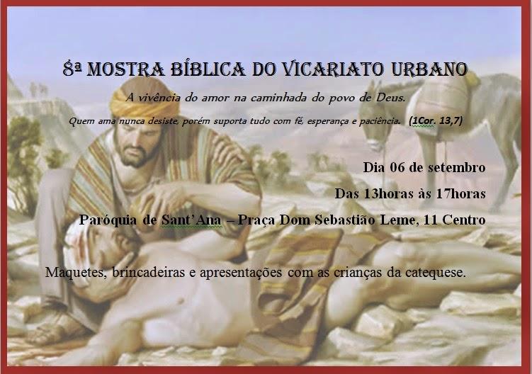 Mostra Bíblica Urbano