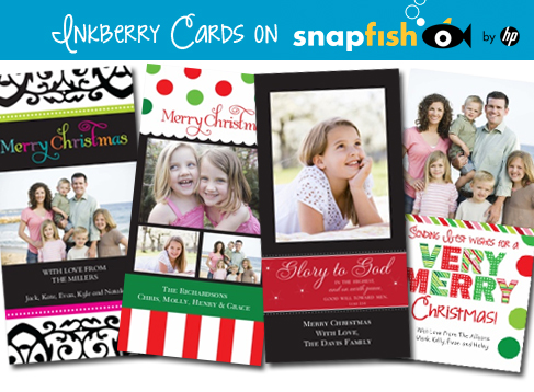 earlier this year i was so excited to be asked to design a collection of holiday cards exclusively for my publisher they are well known for their gorgeous - Snapfish Christmas Cards