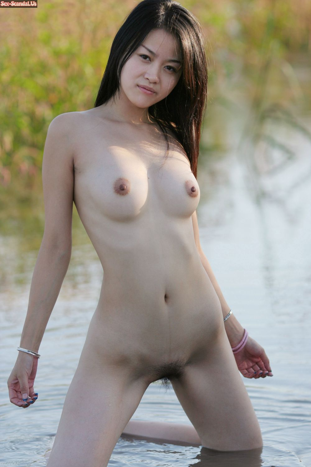 female korean model nude