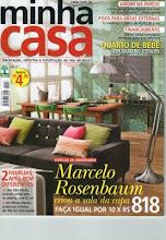 Estou na revista Minha casa!