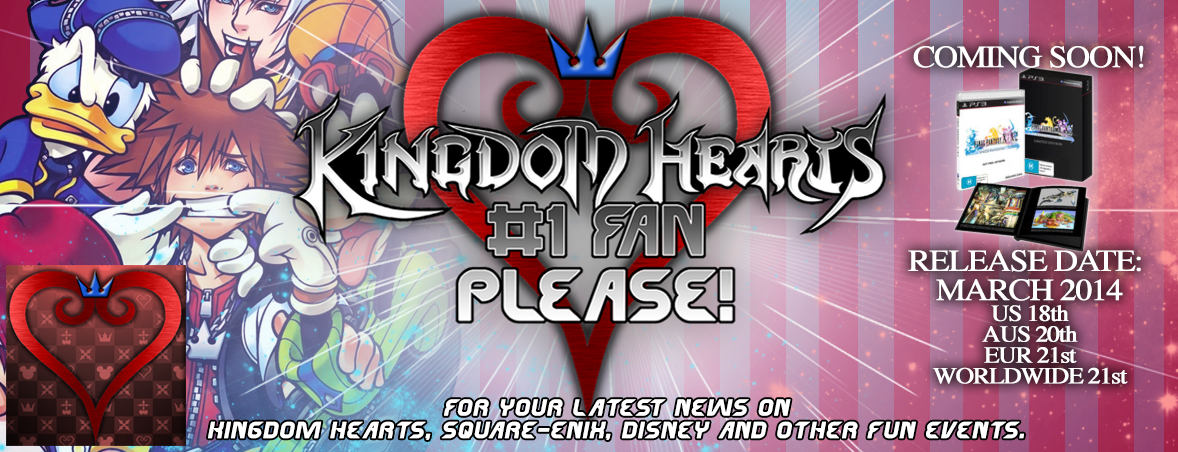Kingdom Hearts #1 Fan Please!