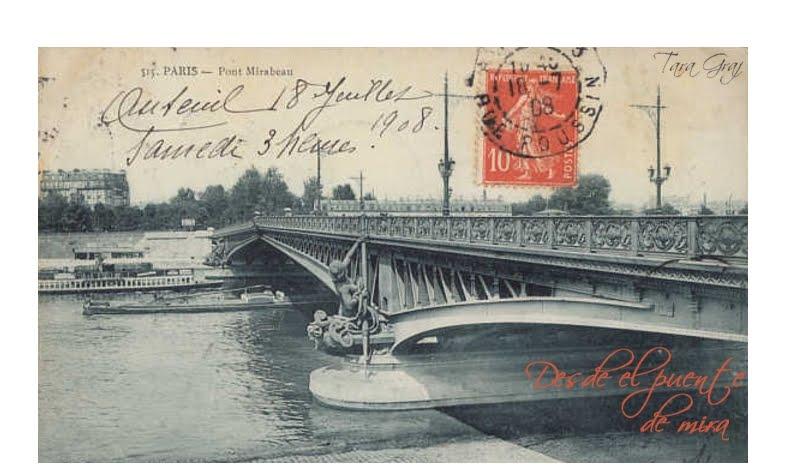 Desde el puente de mira