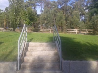 Escadas Parque de Merendas Fonte Arcada