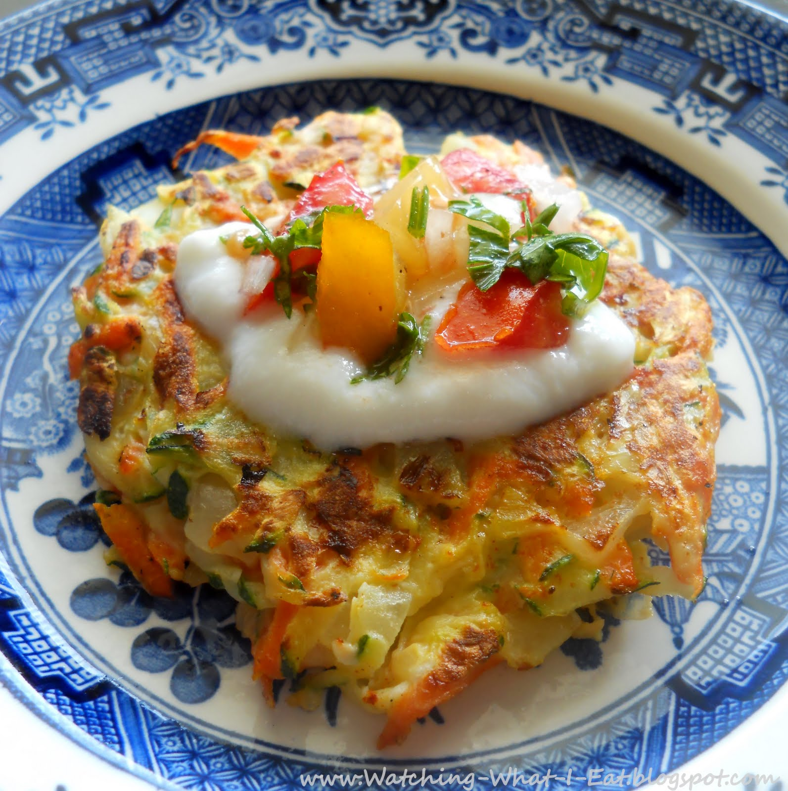 Watching What I Eat: Vegetable Rosti ~ crisp, golden, shredded veggie ...