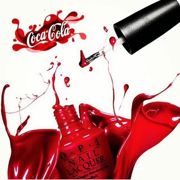 OPI, OPI nail polish, OPI collaboration, Coca Cola, Coke & OPI, nails,
