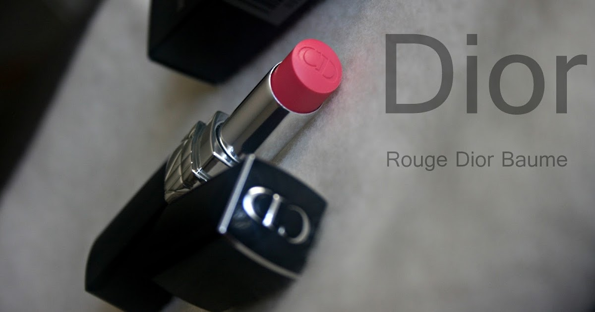 Rouge Dior Baume Natural Lip Treatment