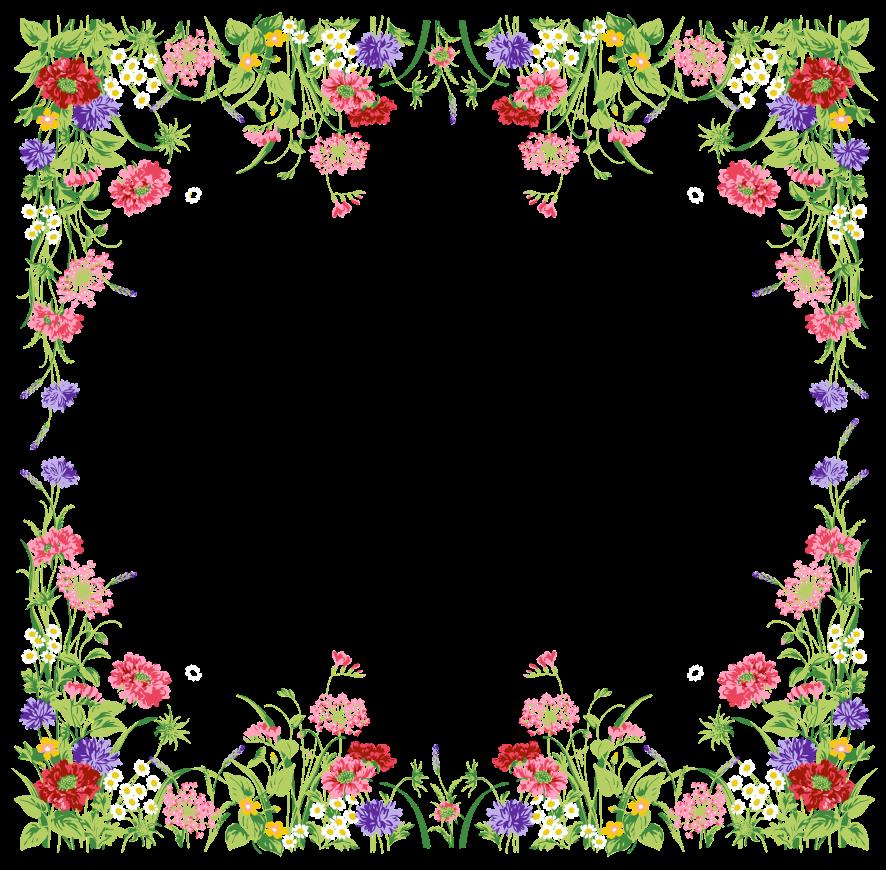 Do outro lado dos meus sonhos molduras floral for Decorar paginas