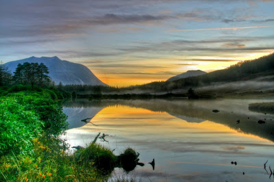 Glen Etive reflection