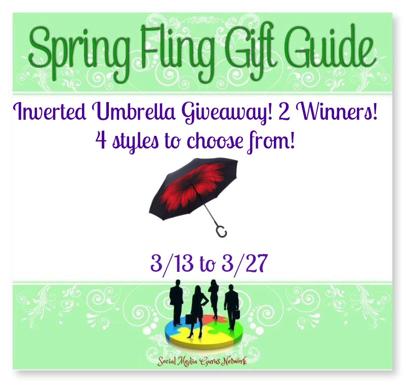 Inverted Umbrella Giveaway