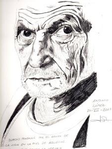 """""""Retrato de Antonio López"""", por Paco de la Calle..."""