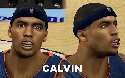 NBA 2K13 Charlotte Bobcats Tyrus Thomas Cyberface
