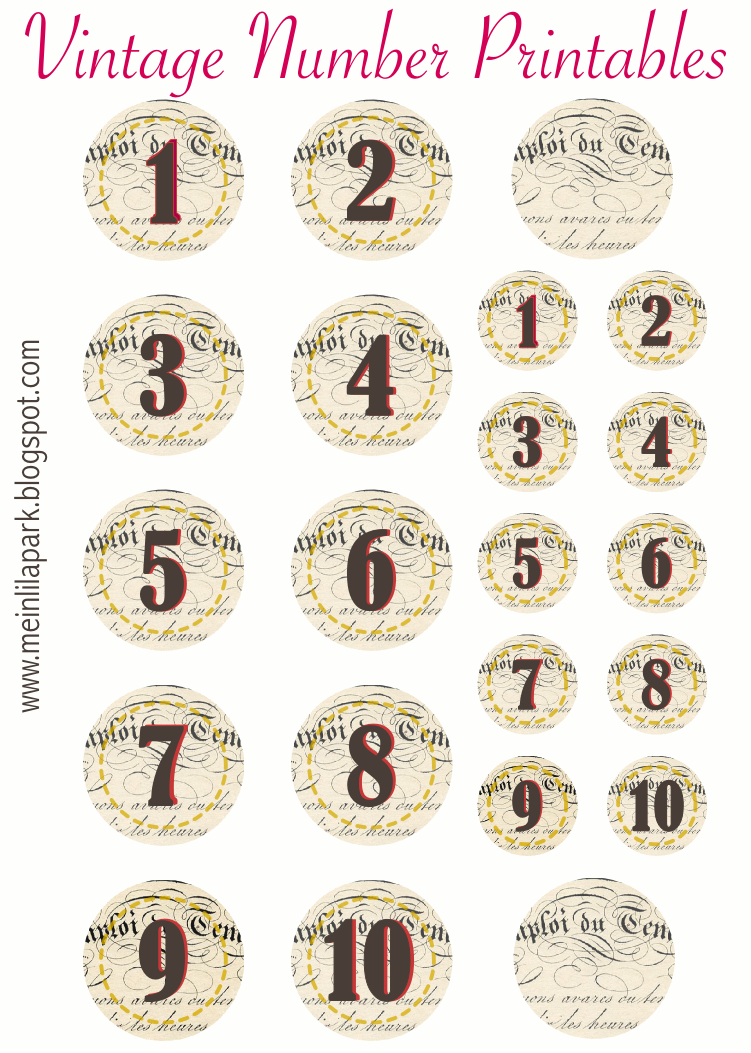Fan image pertaining to printable number tags