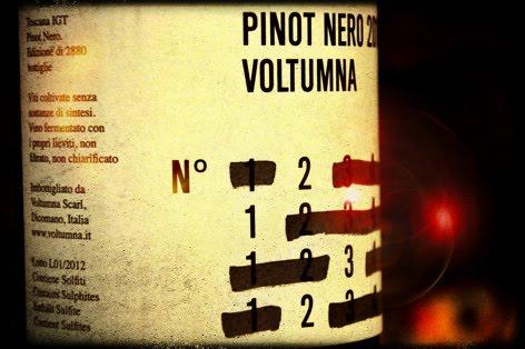 PINOT NERO 2010 - Toscana I.G.T. - Voltumna