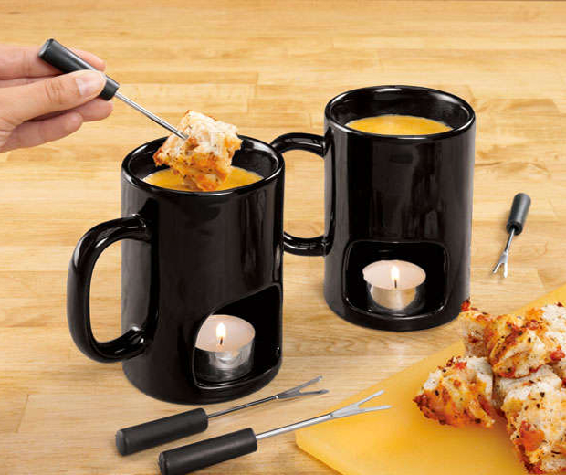 Evelots Fondu Mugs