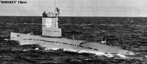 Whiskey V  Submarino