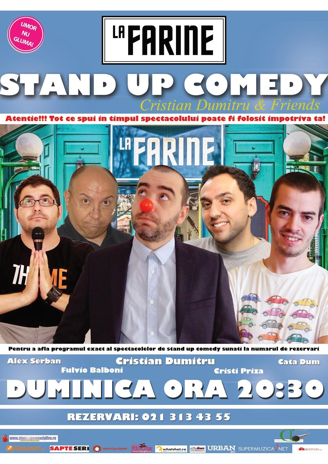 Stand-up Comedy Miercuri Bucuresti