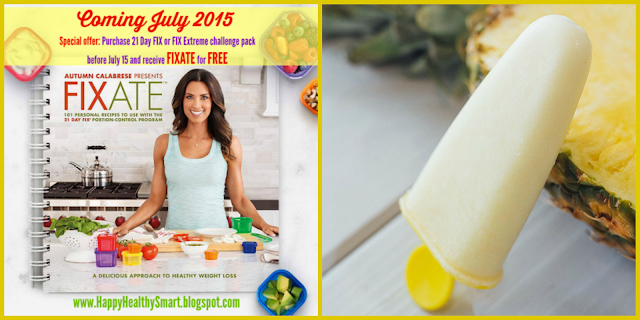 We're kicking off launch week for the Fixate cookbook by featuring some of Autumn Calabrese's family favorite recipes. Here's a refreshing yet healthy snack idea from Autumn that your kids will love! This could not be any easier! Try switching up the flavors by replacing the pineapple chunks with other fruits like strawberries, peaches, raspberries or a mixture of a few.