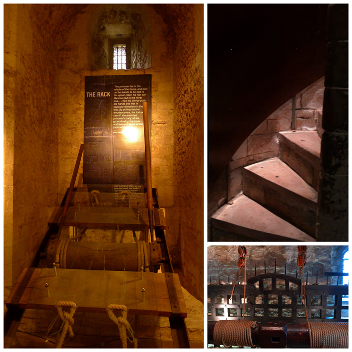 Torture devices in the Wakefield Tower, The Tower of London