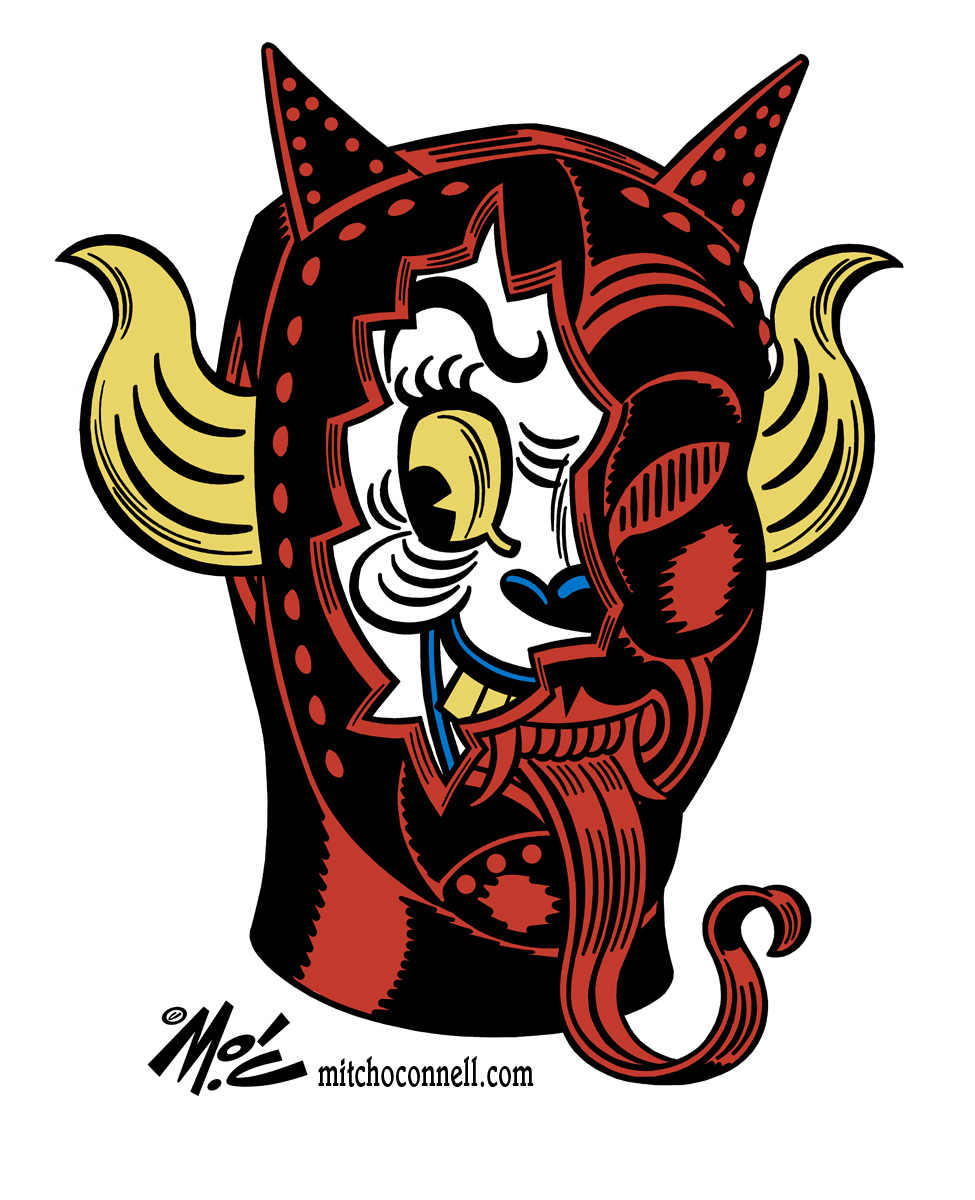 Mitch O'Connell: FREE! All The Devil, Satan, Lucifer