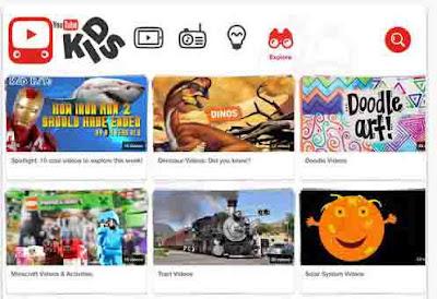 YouTube Kids YouTube  untuk Anak-Anak