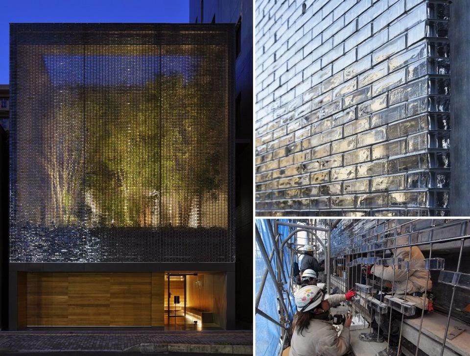 Ilia estudio interiorismo 6000 piezas de vidrio a modo de for Casa vivienda jardin pdf