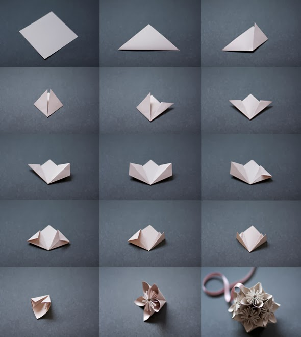 Make It Yourself A Spring Bouquet of Paper Cherry Blossoms