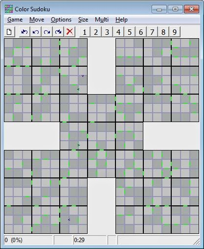 Color Sudoku Screenshot image 2