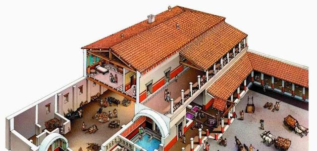 Casa romana, cosa y Derecho romano
