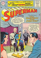 Superman #109 comic cover