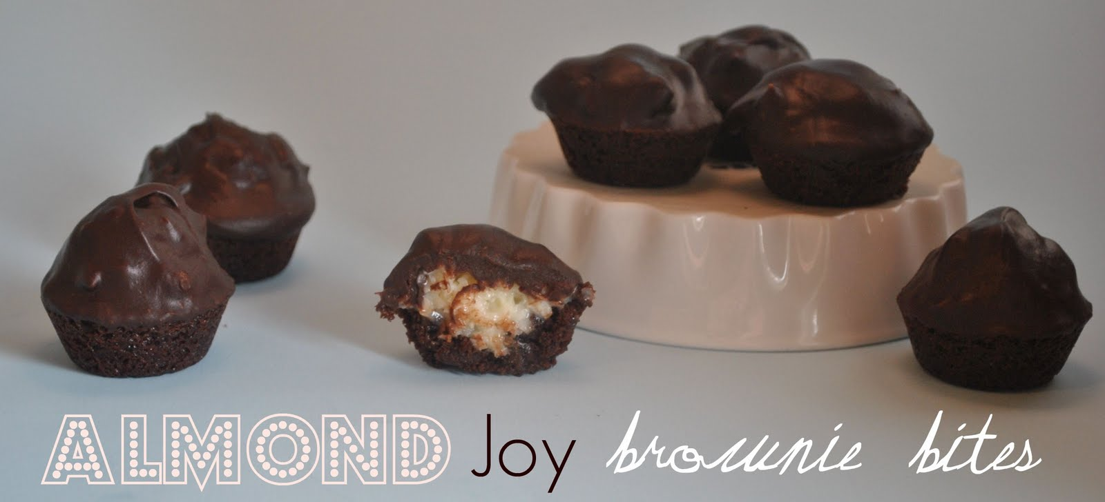 The Farm Girl Recipes: Almond Joy Brownie Bites