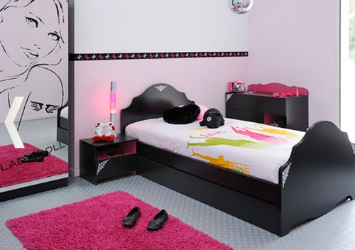 modelos de dormitorios rosa para chicas adolescentes ideas para decorar dise ar y mejorar tu. Black Bedroom Furniture Sets. Home Design Ideas