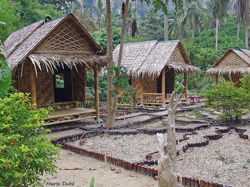 Bungalows à Ton Sai (Krabi)