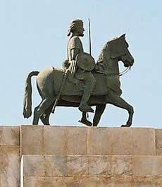 Ahmed ibn Ghazi statue
