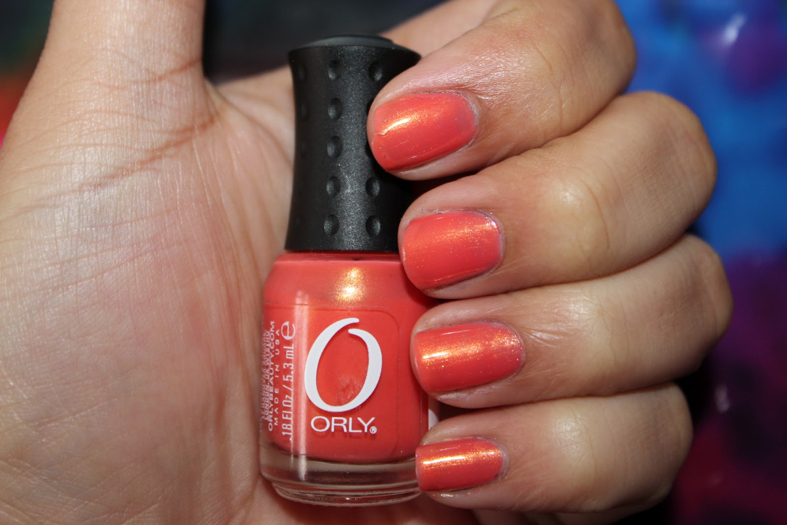 Orly Nail Polish in Orange Sorbet - Bags of Beauty...