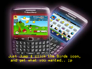 BlackBerry Theme Angry Birds Rio