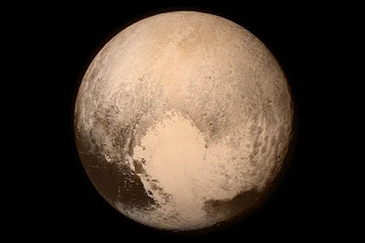 Pluto from 76000Km. NASA