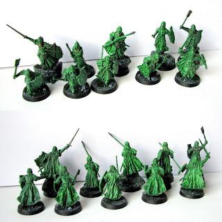 armia umarłych figurki do gier bitewnych