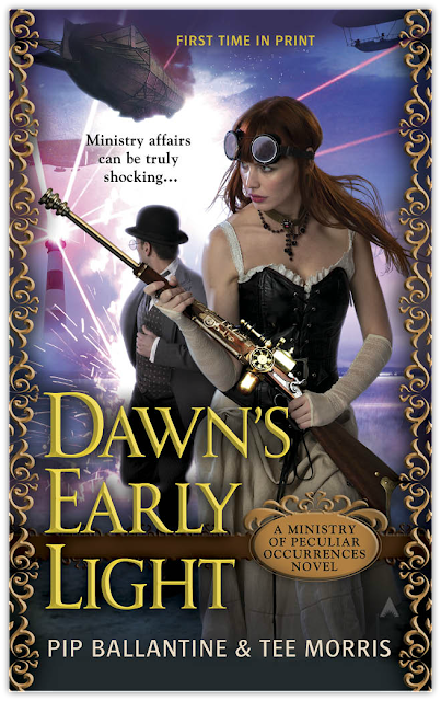 Cover Reveal: Dawn's Early Light by Pip Ballantine and Tee Morris