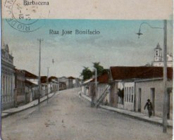 Cartao Postal de Barbacena Rua da Boa Morte
