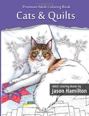 Cats & Quilts - A Coloring Book