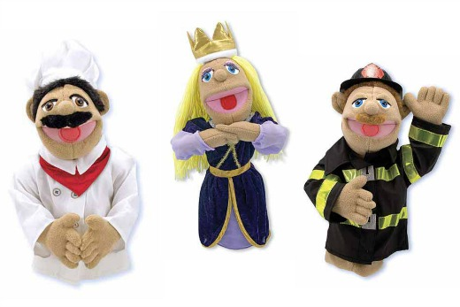 Melissa & Doug Puppet fun