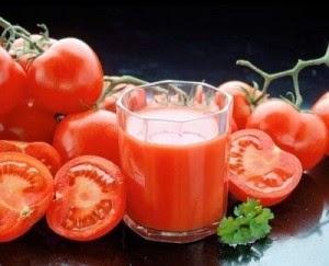 Jus Tomato dikatakan mampu melawan kanser dan sesuai untuk mereka yang inginkan kulit cantik.