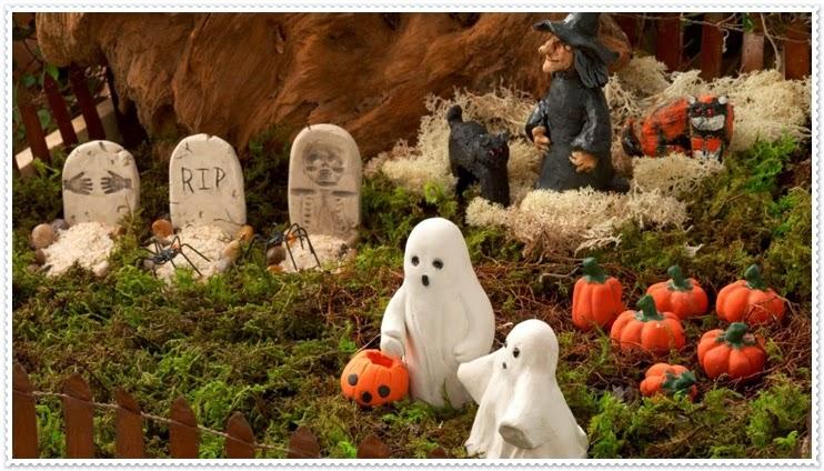 Ideas para todos decorar tu jard n y exterior de tu casa para halloween for Jardin halloween