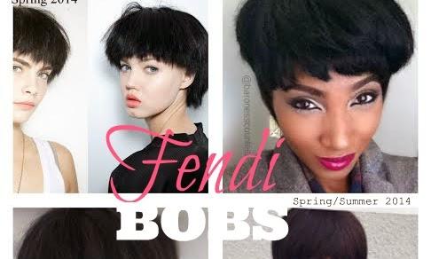 Spring Hair Trend 2014 | Fendi BOBS