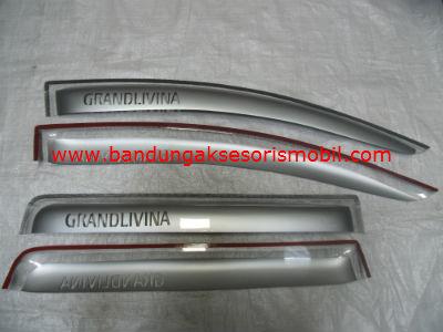 Talang Air Livina / Grand Livina Silver Mugen Depan Belakang