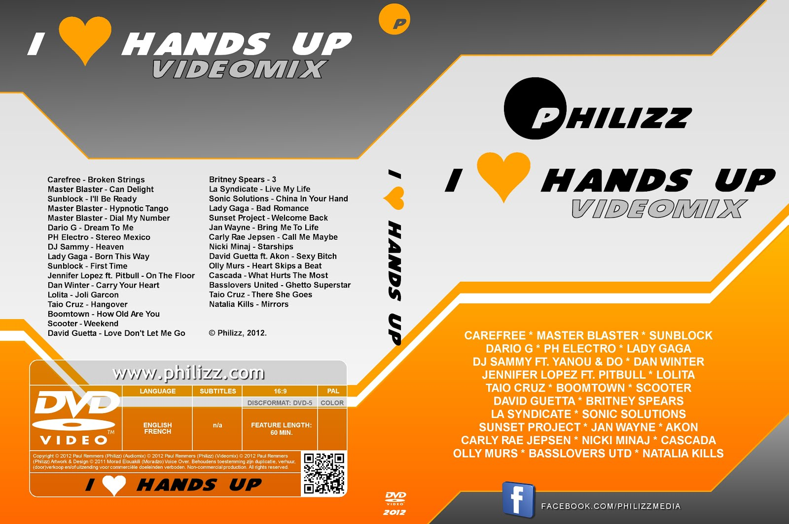 Philizz - I ♥ Hands Up