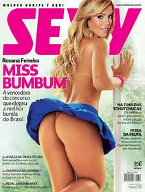 Revista Sexy Rosana Ferreira Janeiro 2012