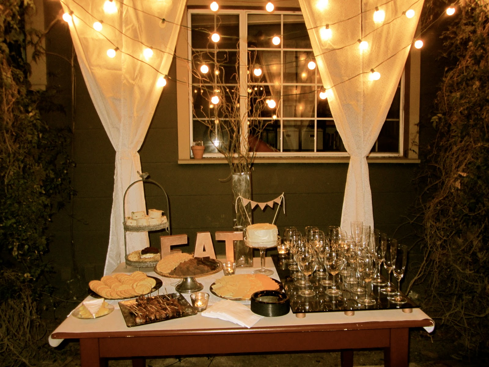 Cocktail party decor pictures