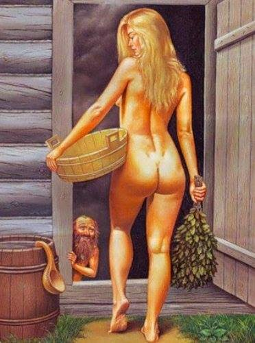 эротические картинки в бане