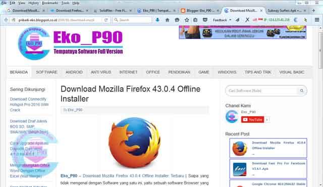 Download Firefox Offline Installer X64
